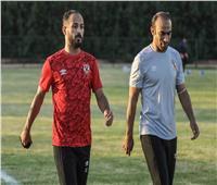 وليد سليمان يخضع لجلسة تأهيل على هامش مران الأهلي بالمغرب