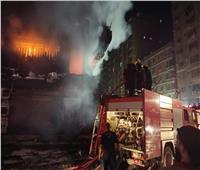 جسارة رجال الإطفاء أنقذت سكان عقار الطالبية من كارثة محققة