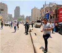 حملات انضباط متتالية على شارع ناهيا ببولاق الدكرور