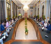 رئيس النواب يستقبل وزيرة الهجرة والوفد الشبابي المصري واليوناني والقبرصي