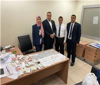 جمارك مطار القاهرة تضبط محاولة تهريب عدد من الأقراص المخدرة