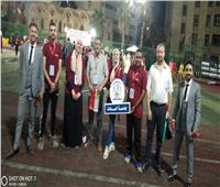جامعة السادات تشارك في مسابقة الطالب والطالبة المثاليين بالفيوم