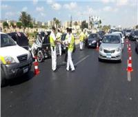 انتشار مروري بالقاهرة لرفع الأعطال وتيسير حركة الطرق
