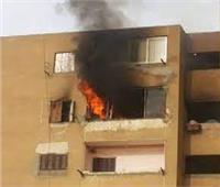 إخماد حريق شب داخل شقة سكنية بالنهضة