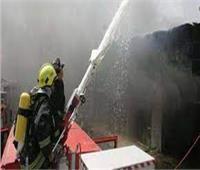الحماية المدنية تسيطرعلى حريق بقطعة أرض بمدينة نصر