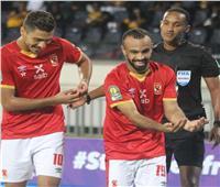 دوري أبطال أفريقيا  الشناوي يرفع كأس البطولة