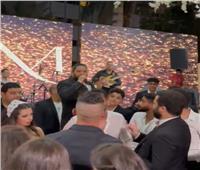 مصطفى حجاج يحتفل بفوز الأهلي ببطولة أبطال أفريقيا خلال حفل زفاف| فيديو