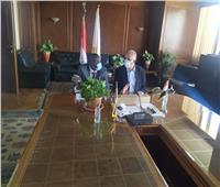 «عبد العاطى» يستقبل «ماناوا بيتر» وزير الموارد المائية بدولة جنوب السودان