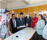 «الجيزاوي» يتفقد أعمال رصد النتائج ومشاريع التخرج بهندسة بنها وشبرا