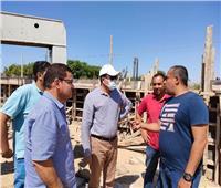 جهاز«برج العرب الجديدة»: استمرار أعمال رفع كفاءة مدخل المدينة الرئيسي
