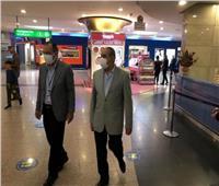 جولة تفقديةلوزير الطيران بمطار القاهرة لمتابعة استعدادات عيد الأضحى | صور