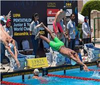 التشيك تتصدر منافسات السباحة للتتابع المختلط ببطولة العالم للخماسي الحديث