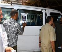 محافظ الفيوم: ملصقات توعوية على سيارات الأجرة حول مخاطر الهجرة غير الشرعية