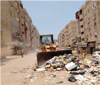 محافظ الدقهلية يتابع رفع تراكمات القمامةبميادين المنطقة المركزية
