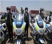 انتشار قوات التدخل السريع والشرطة النسائية لتأمين احتفالات العيد