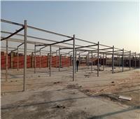 بدء تنفيذ سوق حضارية على مساحة 10 آلاف متر للباعة الجائلين بالعبور
