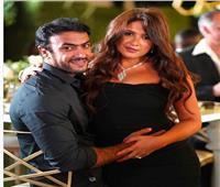 آخر ظهور لياسمين عبدالعزيز وأحمد العوضي قبل تدهور حالتها الصحية