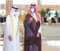 ولي العهد السعودي يستقبل الشيخ محمد بن زايد في الرياض
