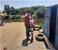 حملات مستمرة لمراجعة المعديات النهرية بنطاق مراكز البحيرة