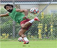 محمد صلاح يسجل هدفًا رائعًا في تدريبات ليفربول  فيديو