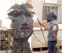 «وجه من حديد» مشروع فنى يبهر السوشيالجية !
