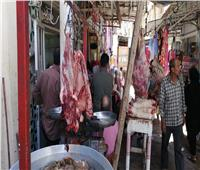 قبل ساعات من عيد الأضحى.. زحام أمام محلات الجزارة بالغربية  فيديو وصور