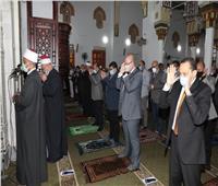 محافظ بني سويف يؤدى صلاة عيد الأضحى وسط إجراءات احترازية  صور