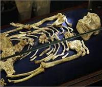 عمره 35 ألف سنة.. هيكل عظمي أبهر العالم بمتحف الحضارة  فيديو