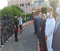 محافظ بورسعيد يزور قوات الأمن ويهنئ رجال الشرطة بعيد الأضحى المبارك