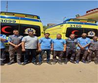 انتشار ١١٤ سيارة إسعاف في كافة أنحاء سوهاج خلال عيد الأضحى