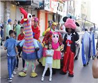 أهلاً بالعيد  شباب كفر الدوار يوزعون 4000 لعبة على الأطفال