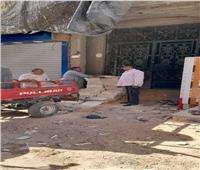 وقف مباني مخالفة.. ومصادرة الأعمال بشارع عمر مكرم بمدينة ملوي