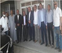 نواب البرلمان بأسوان يزورون «الإدريسي» في المستشفى الجامعي