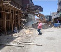 في ثاني أيام العيد.. وقف أعمال بناء مخالف بالبساتين