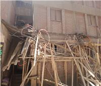 في ثاني أيام العيد .. وقف أعمال بناء مخالف بالزاوية الحمراء