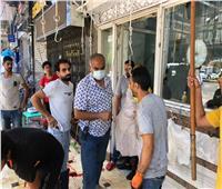 ضبط حالات ذبح مخالف وتوقيع غرامات على المخالفين في الدقي بالجيزة