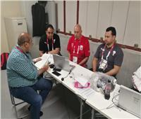 غرفة عمليات ببعثة مصر استعدادًا لحفل افتتاح أولمبياد طوكيو 2020