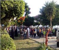 صور  إقبال المواطنين على المراكب النيلية بالمنيا في ثالث أيام عيد الأضحى