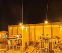 إطلاق الجهد الكهربائي على محطة محولات النرجس جهد 220kv GIS | صور