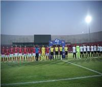 الدوري الممتاز  نهاية الشوط الأول بالتعادل السلبي بين الأهلي والبنك