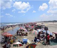 إنقاذ 100 شخص من الغرق بمصيف بلطيم خلال ثالث أيام العيد