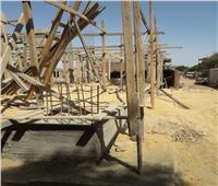إزالة 18 حالة تعدي بالبناء على أراضي الدولة في أسوان