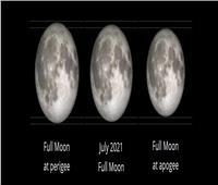 القمر يمر بثلاث ظواهر طبيعية اليوم وغدًا