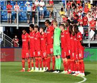 الشوط الأول .. التعادل السلبى يسيطر على مباراة ليفربول وماينز