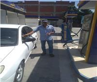 انتظام العمل داخل محطات الوقود بكفر الدوار دون معوقات