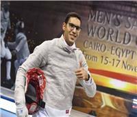 محمد عامر يودع منافسات الفردي للسلاح بأولمبياد طوكيو