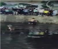 شباب قحافة ينقذون شابًا من الغرق بترعة القاصد في طنطا