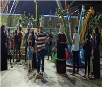 ملاهي العيد.. ضحك ولعب و«كورونا»   صور وفيديو