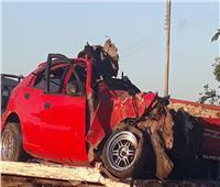 إصابة ٧ أشخاص فى انقلاب سيارة أجرة بالدولى الساحلى برشيد