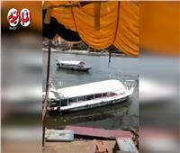 """""""حماية النيل بزفتى"""" : مغادرة المراكب المخالفة .. فيديو"""